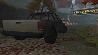 3D 4x4 Off-Road Truck Racing - Extreme Trials Driving Simulator FREE screenshot 5