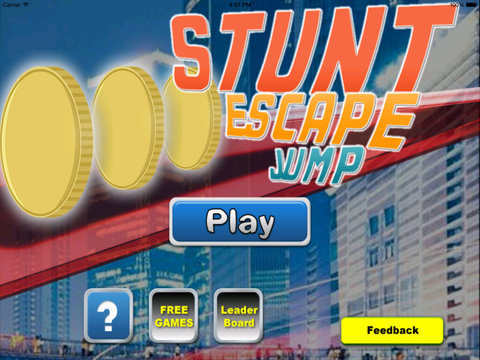 A Stunt Escape Jump PRO - City Through And Run screenshot 6