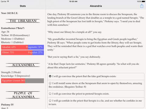 Choice of Alexandria screenshot 7