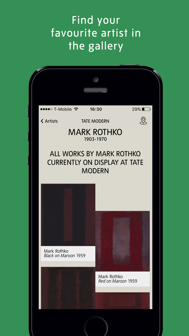 Tate App screenshot 3