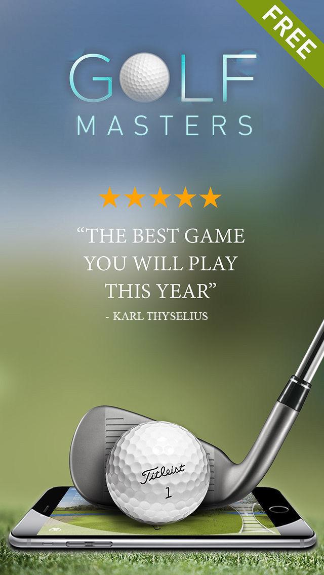 Golf Game Masters - Multiplayer 18 Holes Tour screenshot 1