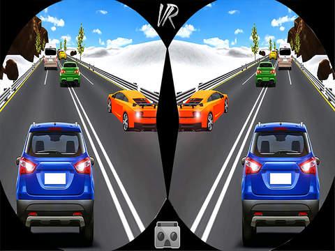 VR Highway Traffic Racing Fever screenshot 6