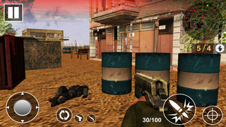 Frontline Combat Commando : Army Duty screenshot 2