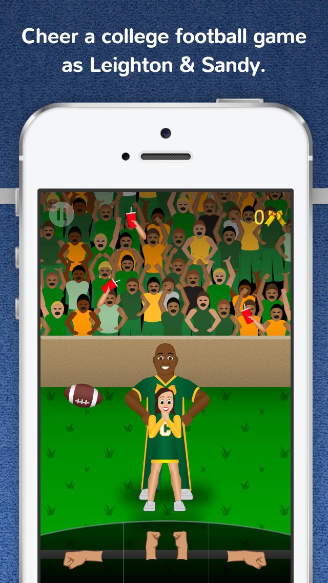 Cheer Fury PRO cheerleading game by Cheermoji screenshot 4