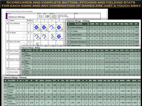 iScore Softball and Baseball screenshot 9
