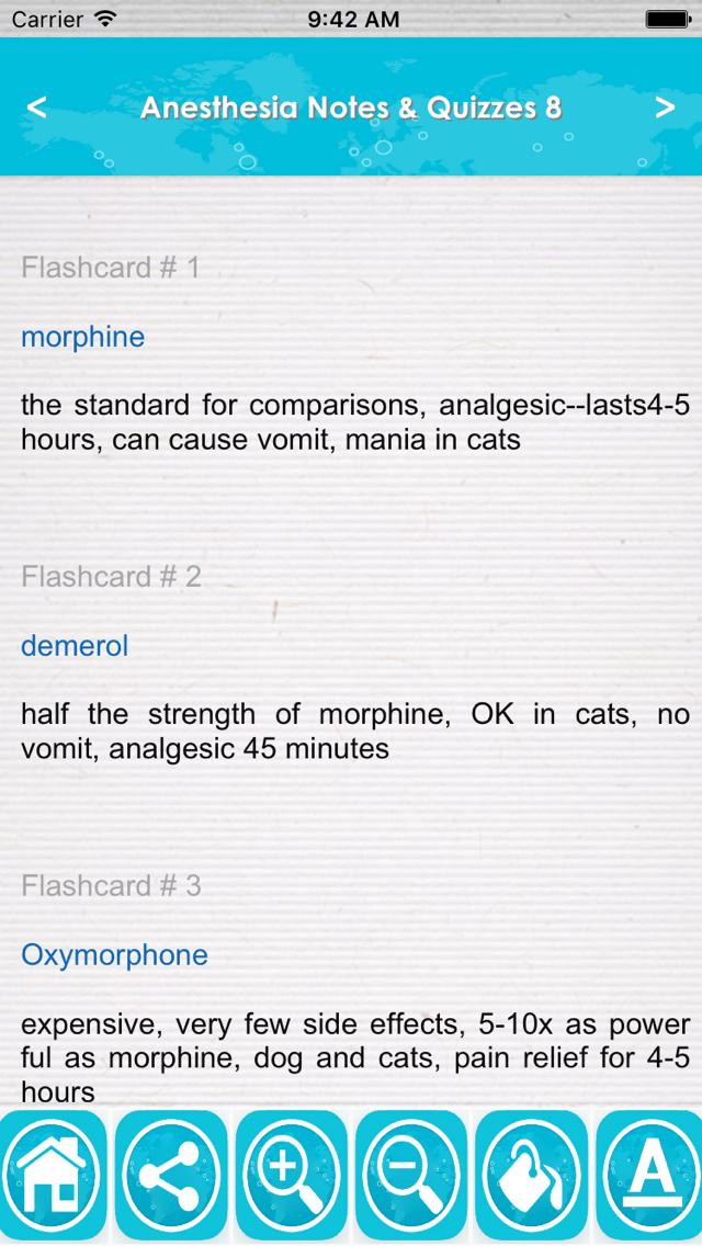 Anesthesia Exam Review : Q&A screenshot 2