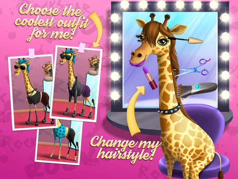 Animal Hair Salon Rock Stars screenshot 10
