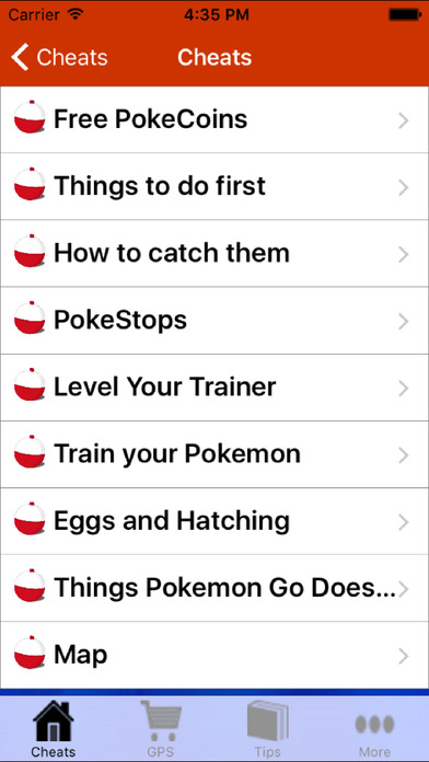 Poke Go Guide Pro screenshot 2