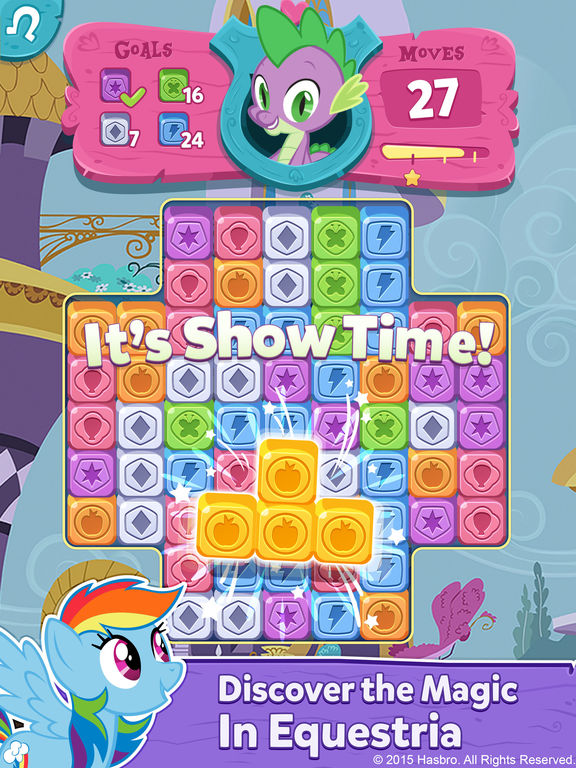My Little Pony: Puzzle Party screenshot 6