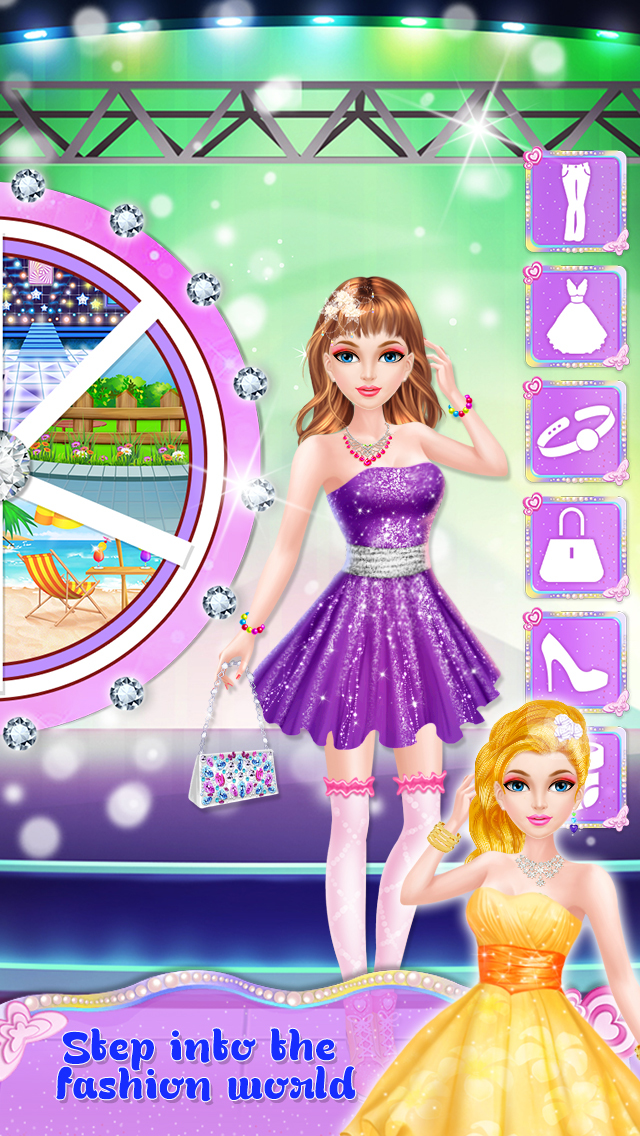 Princess Fashion Salon Stage screenshot 3