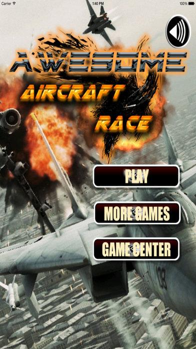 Awesome Aircraft Race Pro - Strike Air Game screenshot 1