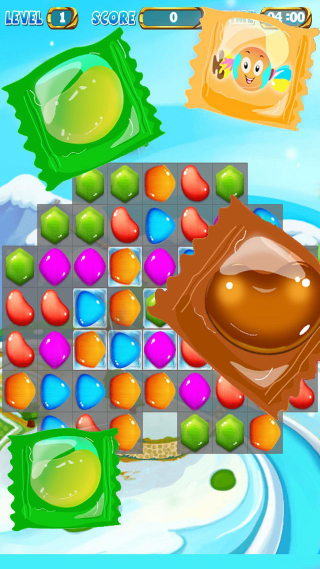 Jelly Star: Match 3 Puzzle Deluxe screenshot 1