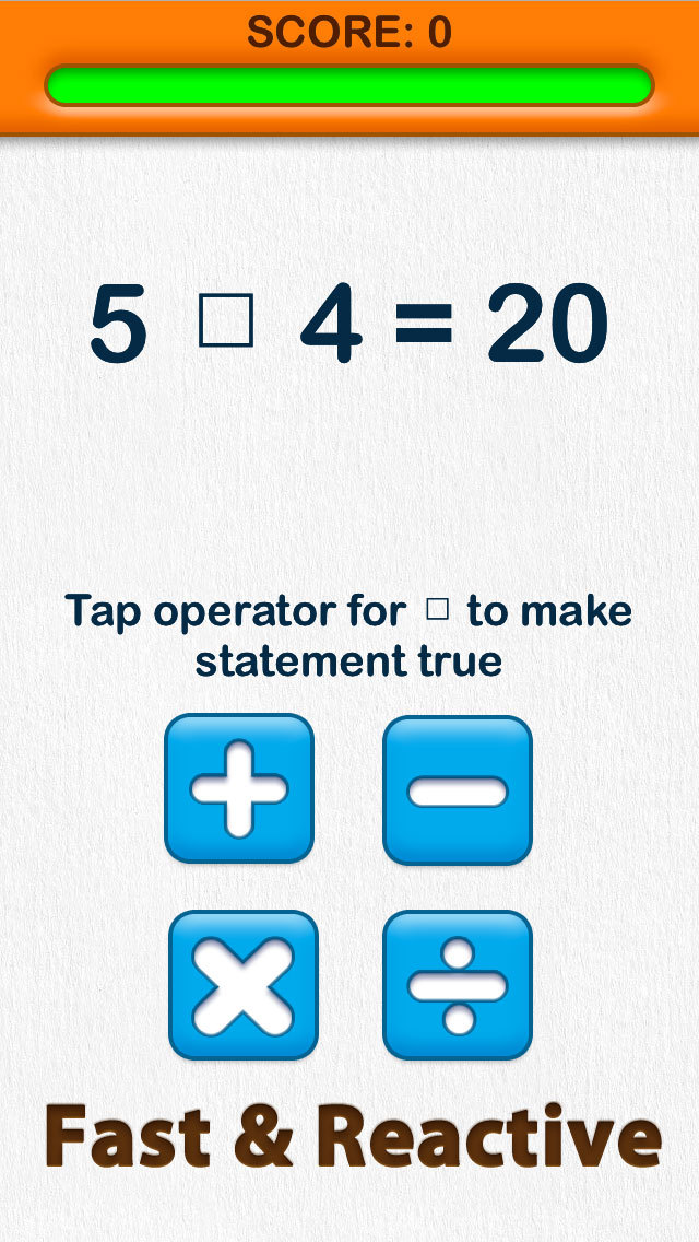 Able Brain Exercises Operators Free screenshot 3