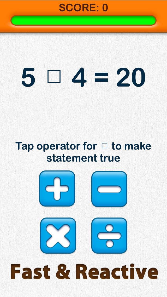 Able Brain Exercises Operators Free screenshot 3
