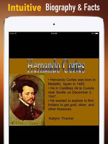 Biography and Quotes for Hernando Cortes: Life with Documentary screenshot 6