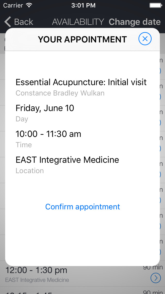 EAST Integrative Medicine screenshot 2