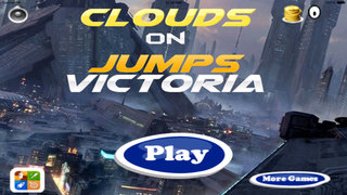 Clouds On Jumps Victoria - Amazing Jump Doodle screenshot 3