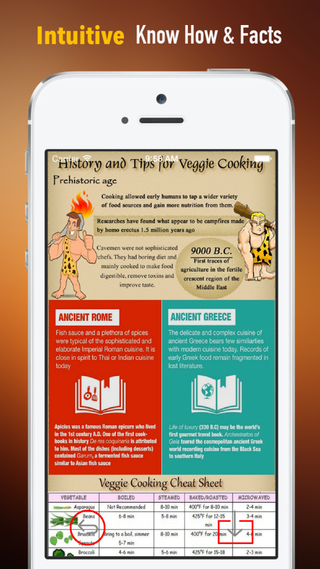 Vegetarian Cooking Skills:Health Recipes and Exercise Plans screenshot 1