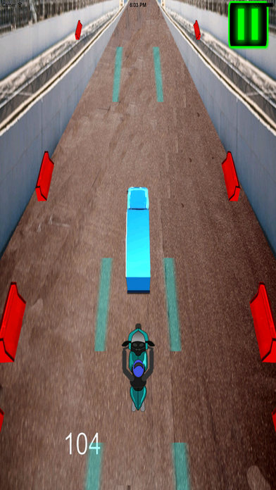 A Fast Motorcycle Racing Fury Pro - A Lighted Track screenshot 4