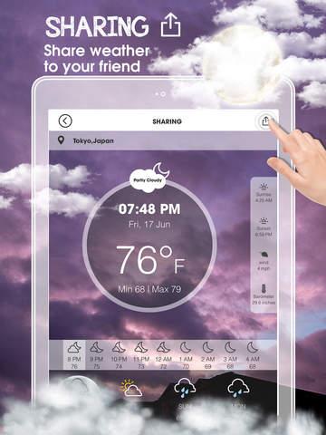 Weather Underground:Widget Weather Forecasts, Interactive