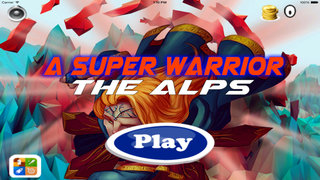 A Super Warrior Of The Alps - Game Amazing Jumps screenshot 1