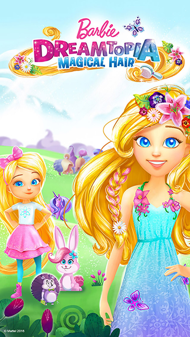 Barbie Dreamtopia - Magical Hair screenshot 1