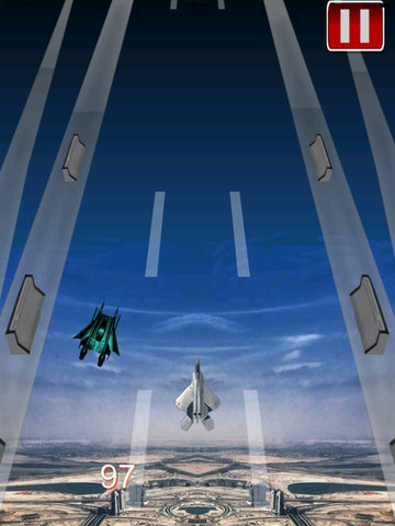 Plane Down Racing - F16 Mobile Fly War Game screenshot 7