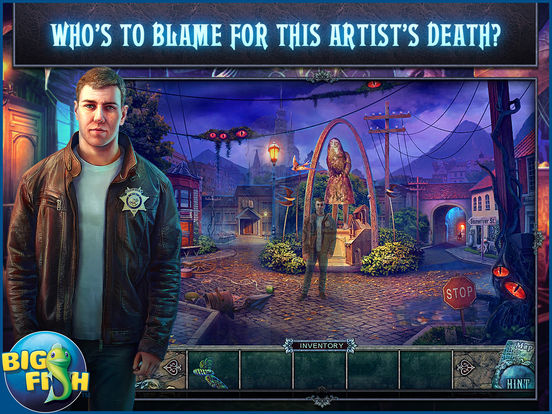 Fear for Sale: City of the Past HD - A Hidden Object Mystery (Full) screenshot 1