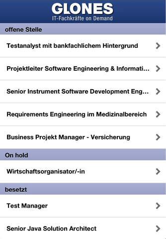 GLONES AG IT Jobs - náhled