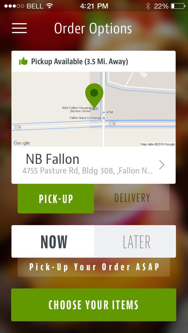 Dine On The Go Fallon screenshot 2