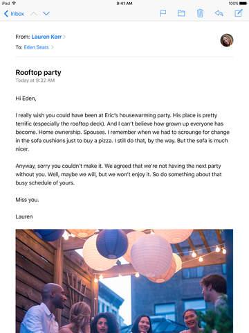 Mail screenshot 2