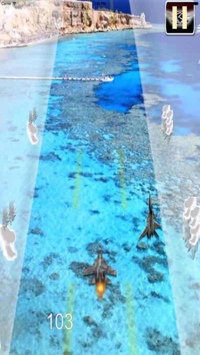 Awesome Aircraft Race Pro - Strike Air Game screenshot 4