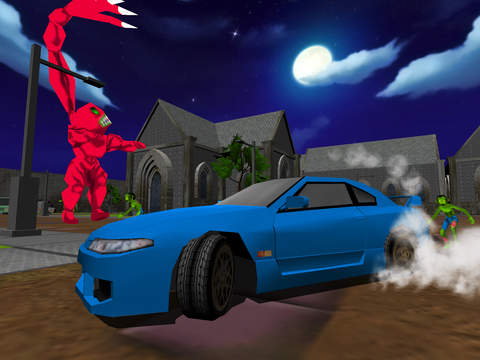 Drift Cars Vs Zombies - Kill eXtreme Undead in this Apocalypse Outbreak Racing Simulator Game FREE screenshot 6