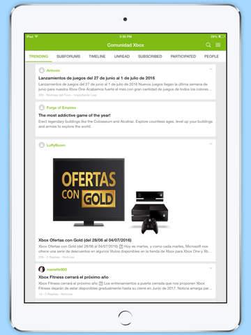 Comunidad Xbox Forum screenshot 5