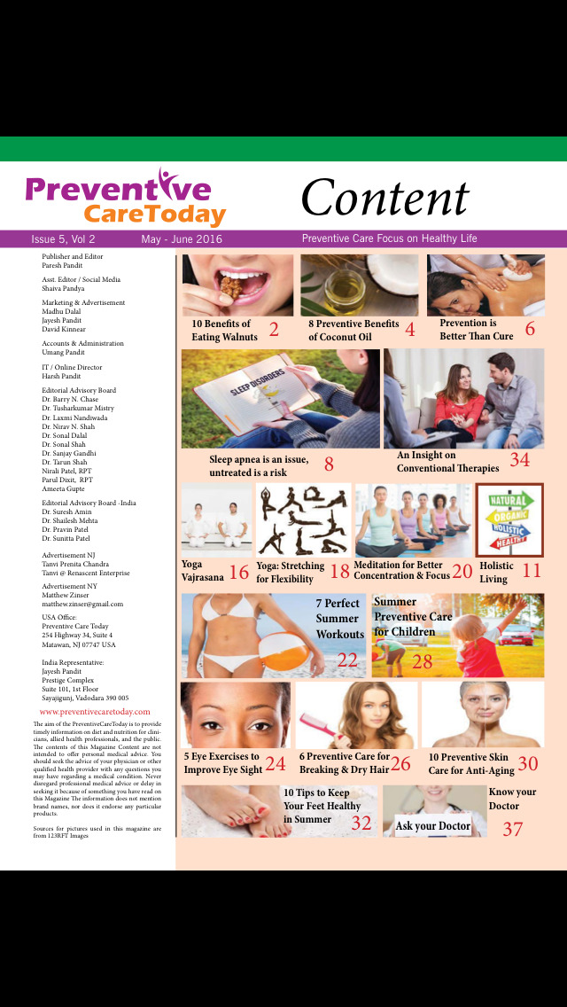 Preventive Care Today Magazine screenshot 3