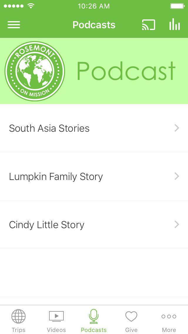 Rosemont Missions App screenshot 3