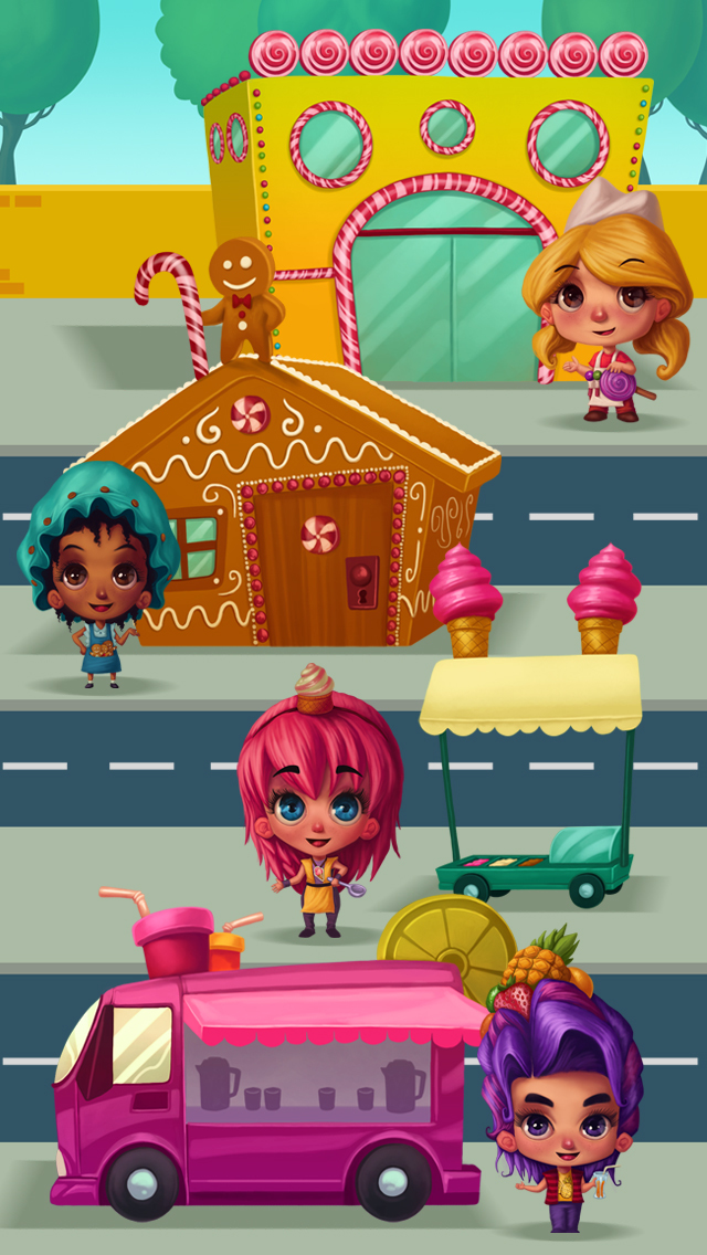 Candy City Fun - No Ads screenshot 1