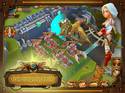 Atlantis - The Lost Islands: 3D strategy war screenshot 9
