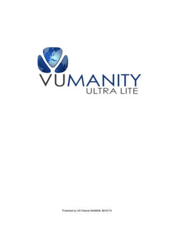 Vumanity Ultra Lite - náhled