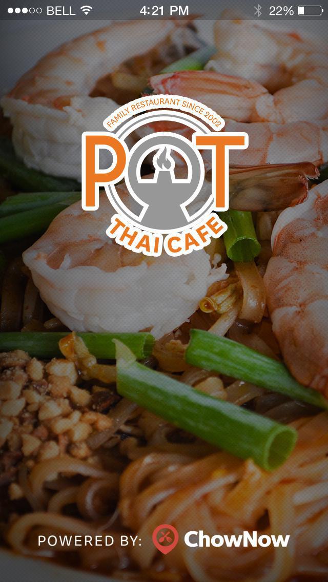 Pot Thai Cafe screenshot 1