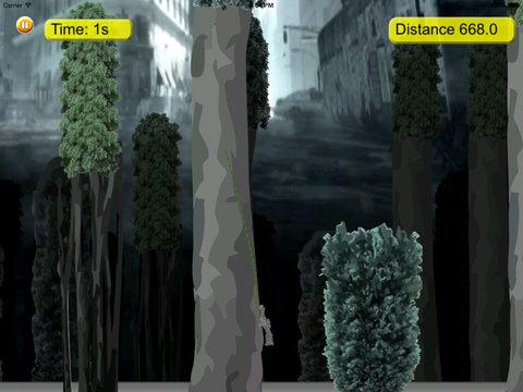 Amazing Fly Rope Robot Pro - Revenge Cyber War Lords screenshot 8