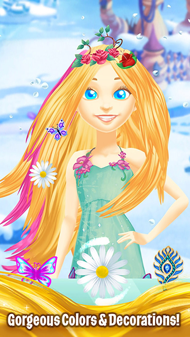 Barbie Dreamtopia - Magical Hair screenshot 2