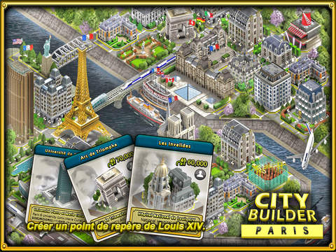 CITY BUILDER - PARIS screenshot 7