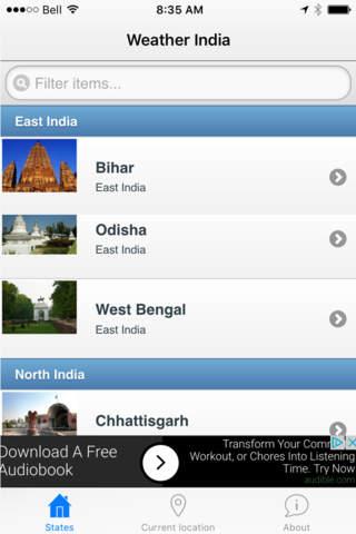 India Weather - náhled
