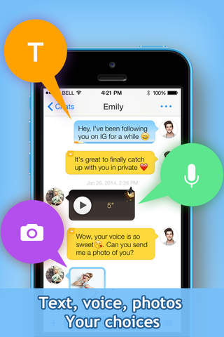 InstaMessage - Meet, Chat, Hangout for Instagram - náhled