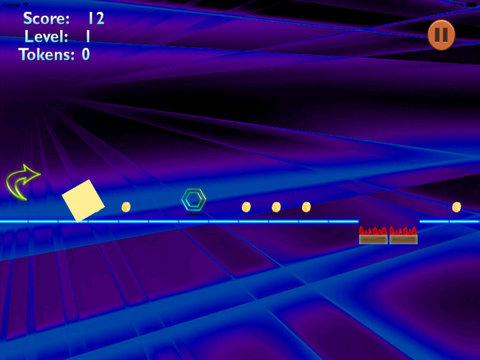 Great Leap Figures - Geometric Figures Jumping To Avoid Sharp Obstacles screenshot 7