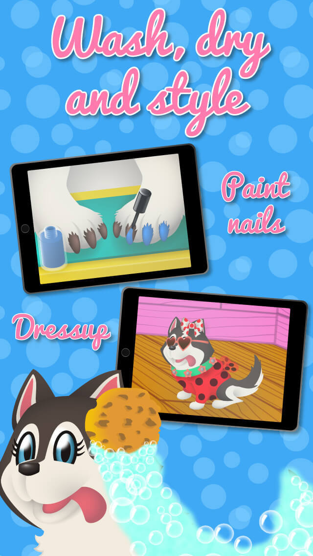 Penny & Puppy's Treehouse Adventure - Clean, Dress up & Pet care screenshot 1