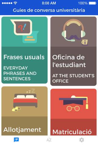 University Conversation Guides - náhled