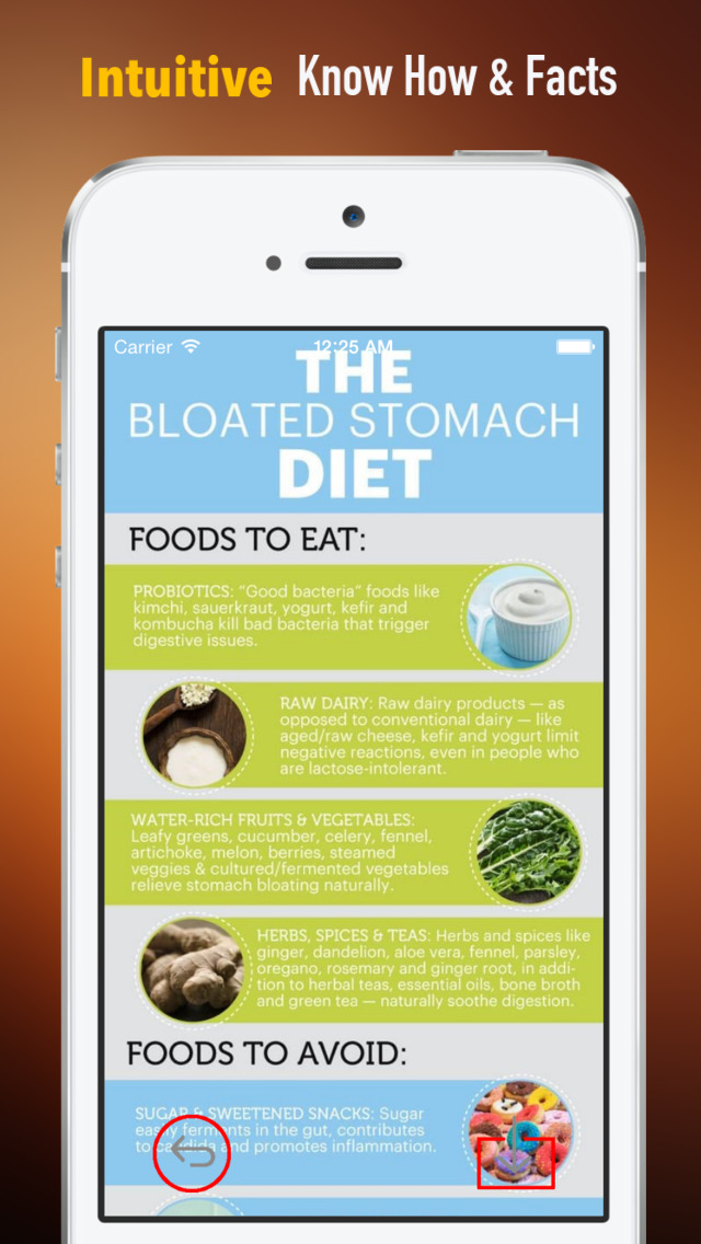 How to Eliminate Bloating:Diet and Health Guide,Natural Remedies screenshot 1