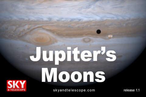 JupiterMoons - náhled